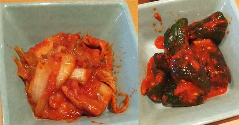 焼肉きんぐ・ランチ食べ放題:キムチ