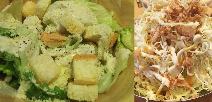 きんぐ:ランチ食べ放題メニュー:サラダ