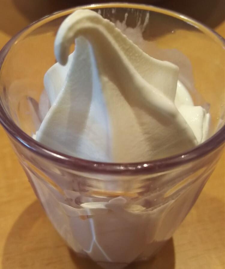 きんぐ:ソフトクリーム