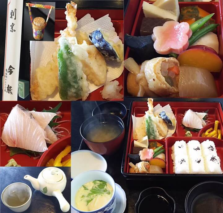 姫路の割烹料理屋:今熊の幕の内ランチ