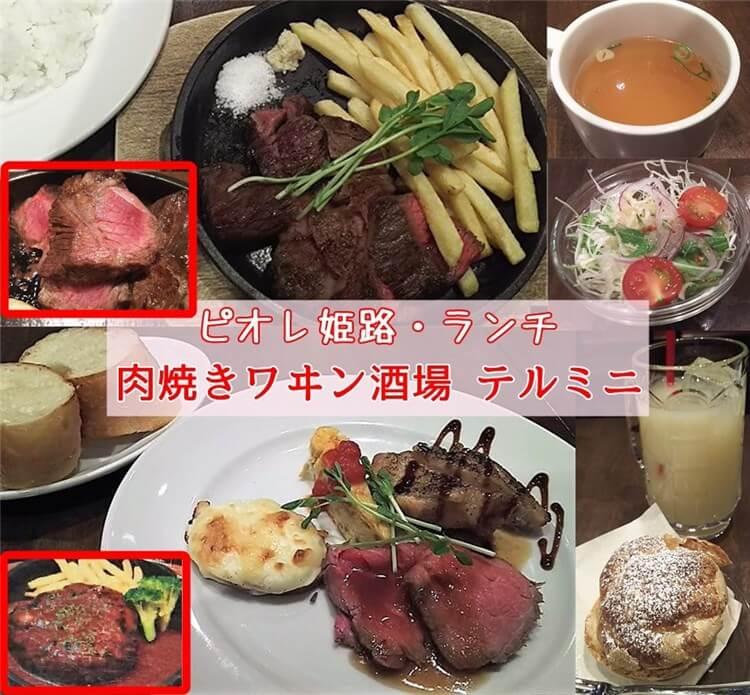 肉焼きワヰン酒場 テルミニ・ピオレ姫路店のランチ