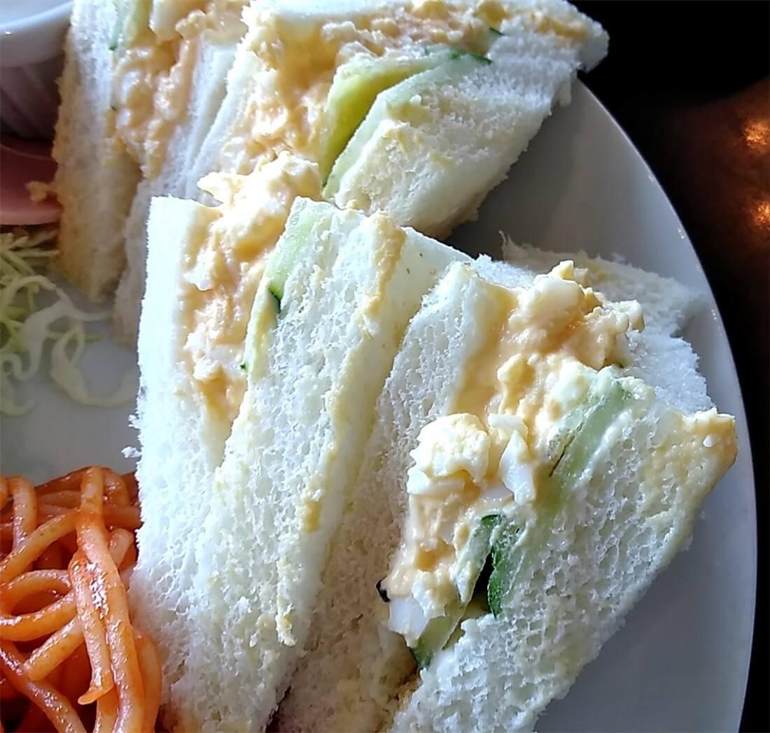 サンドイッチ、アップ画像