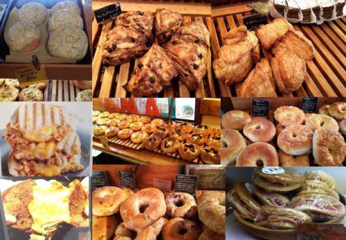 ベーカリーランプの店頭に並ぶたくさんパンたち