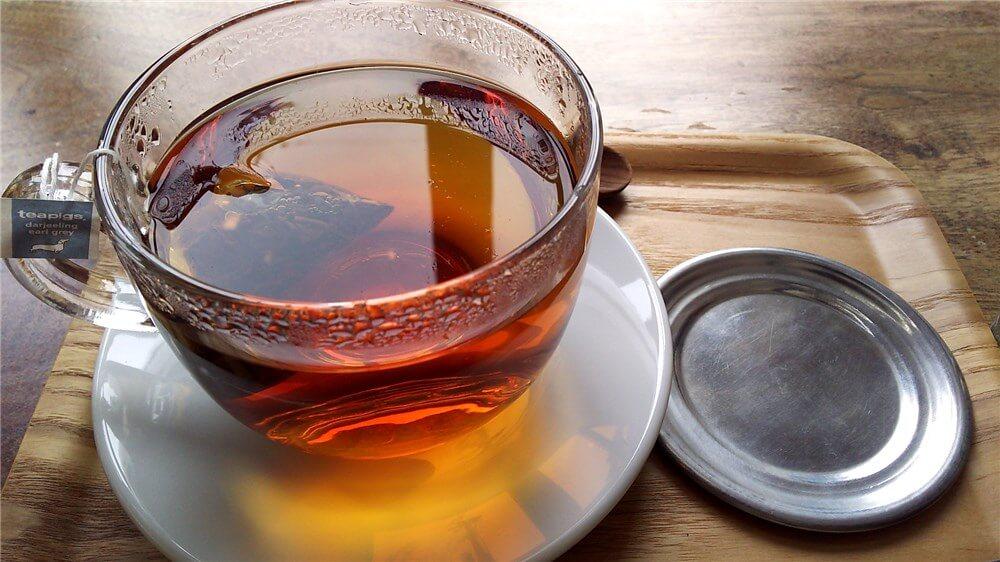 カフェソルの紅茶