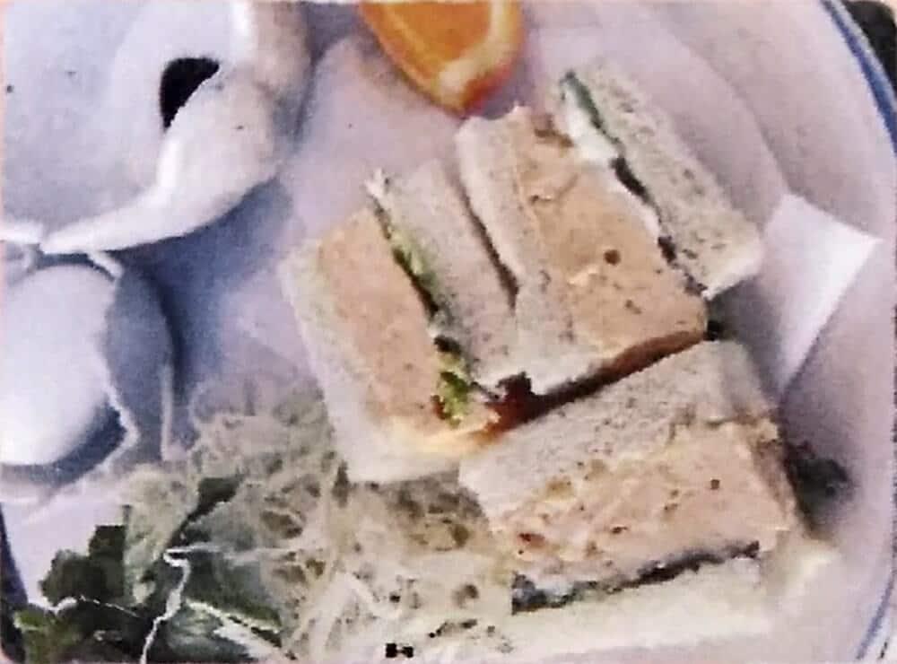 ミスティコのモーニングA:たまごサンドイッチ
