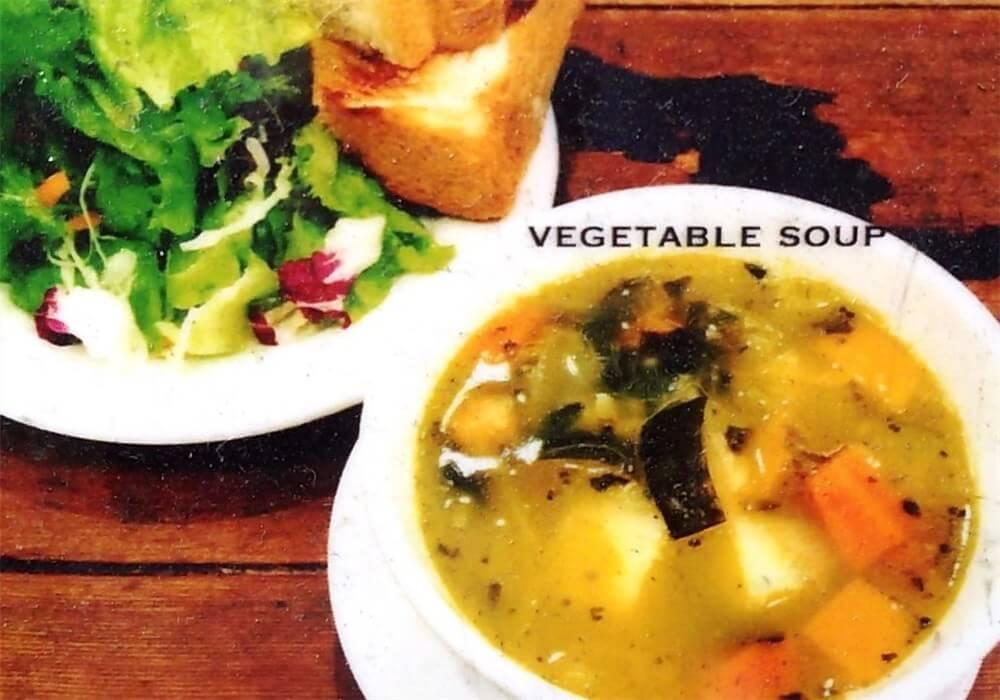 野菜のスープのセット:メニュー画像