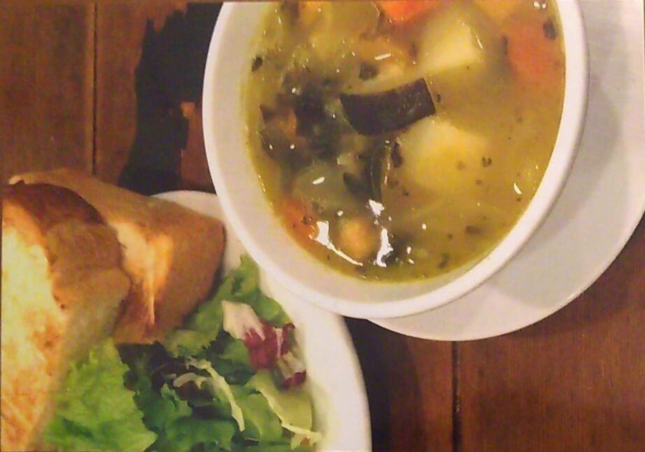 野菜のスープのセット