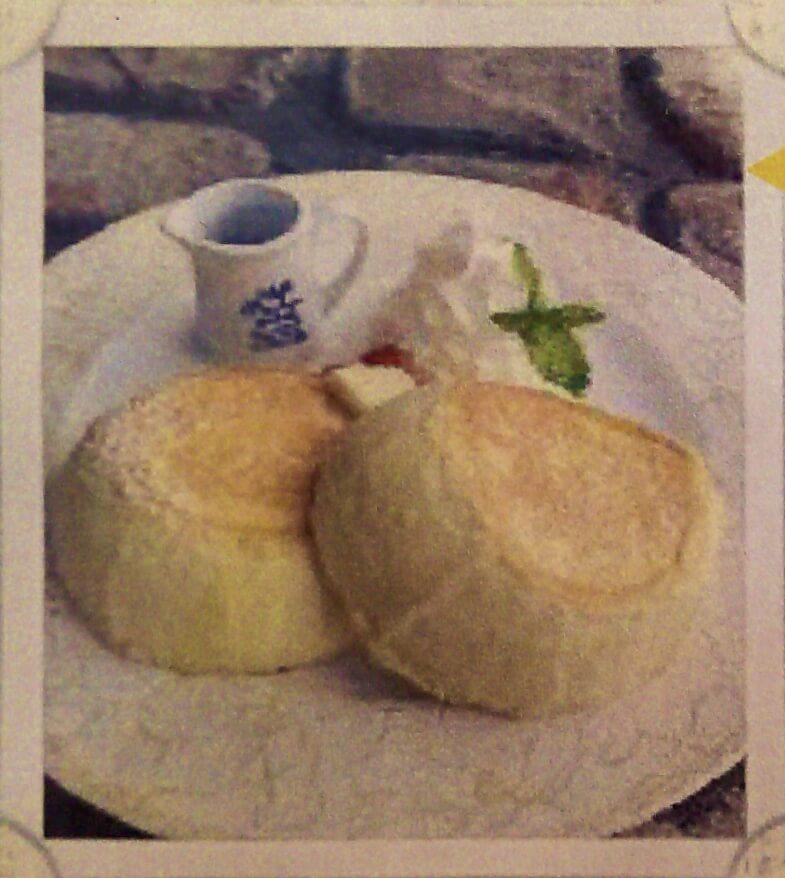 プレーンパンケーキ:900円