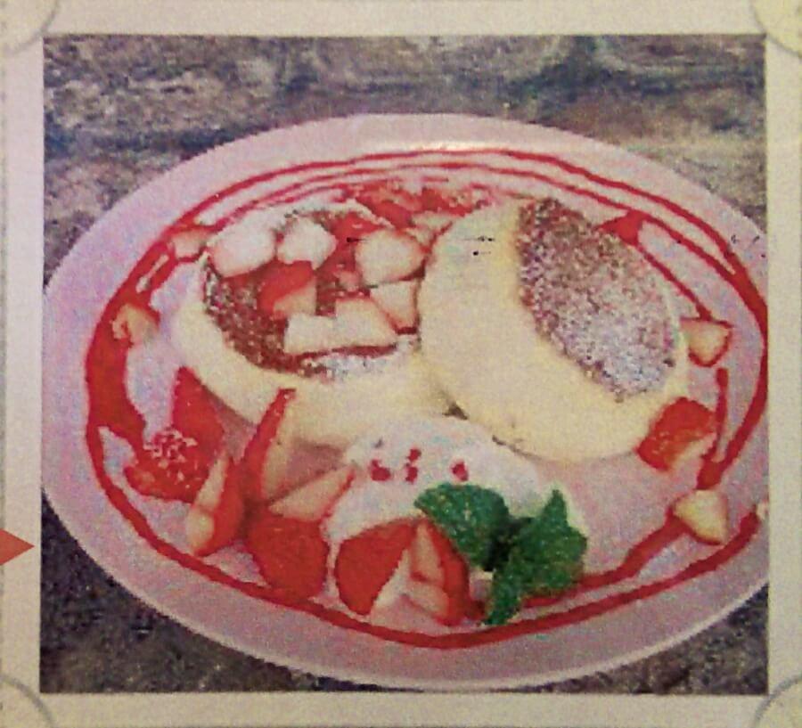 いちごのパンケーキ:1250円
