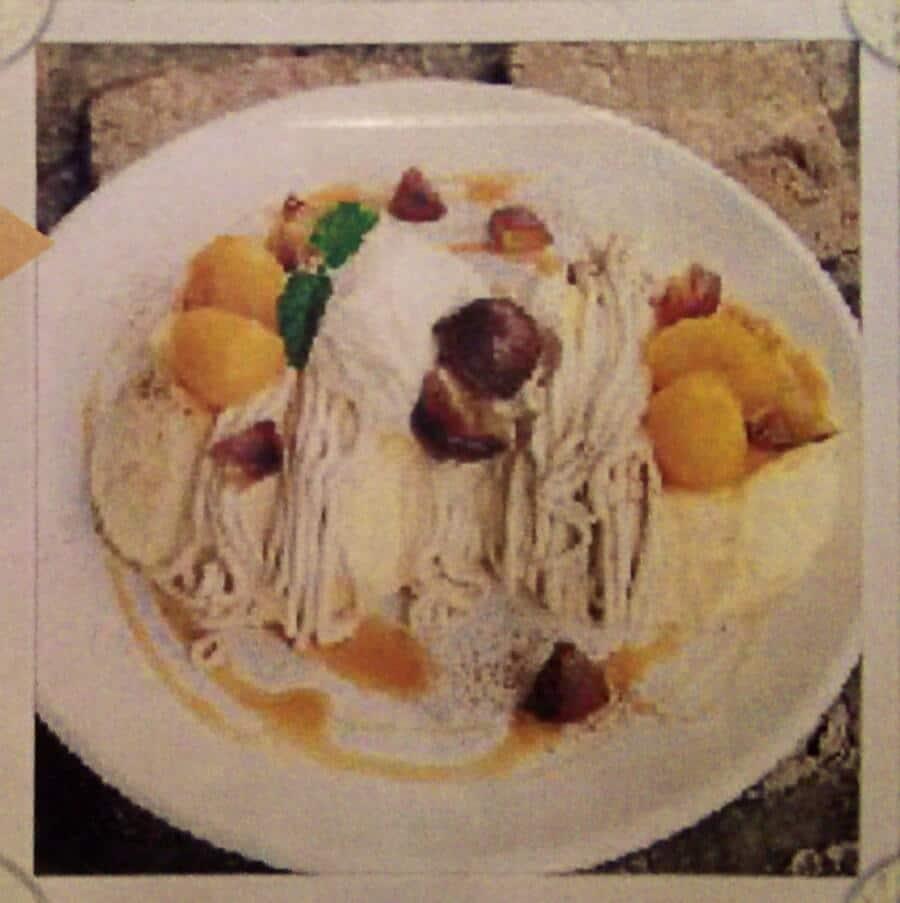 モンブランパンケーキ:1350円