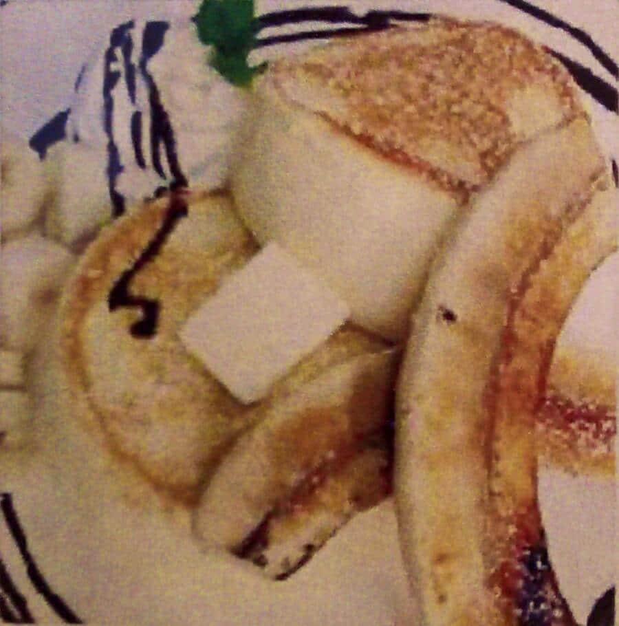 チョコバナナパンケーキ:1000円
