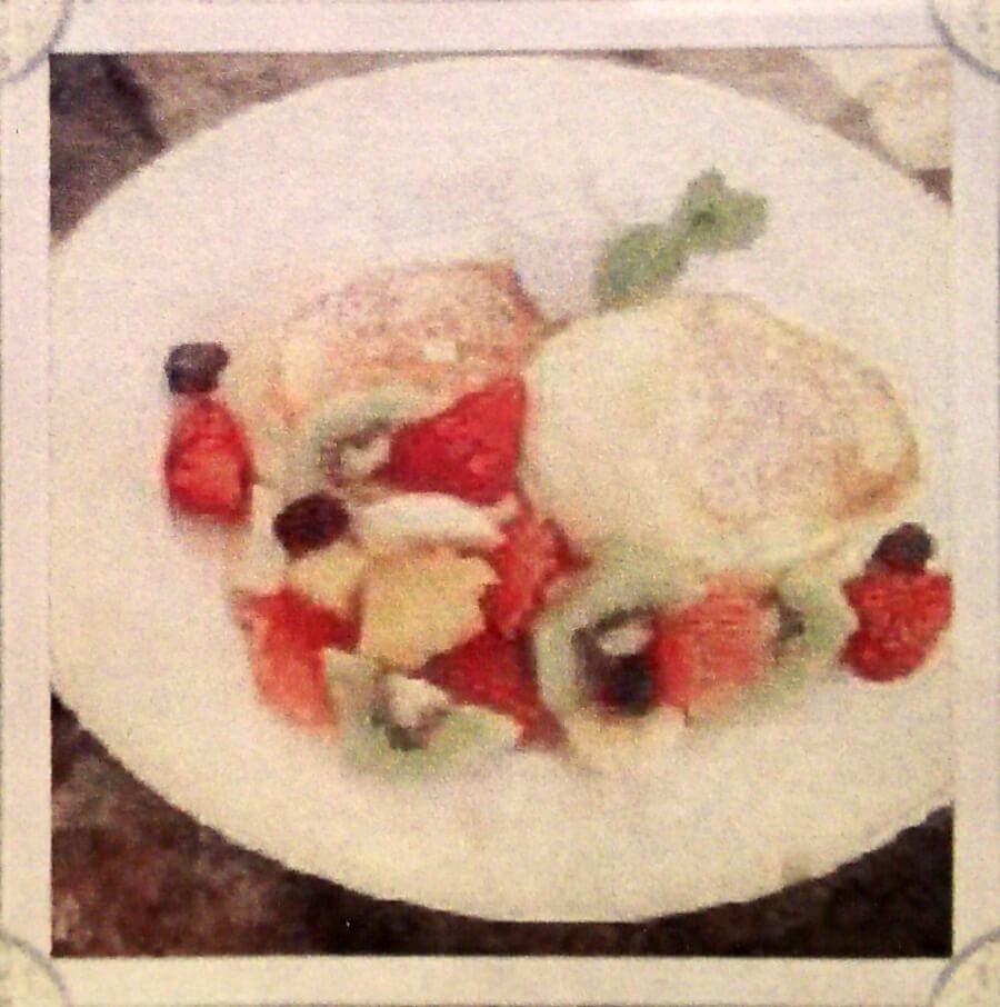 フルーツパンケーキ:1350円