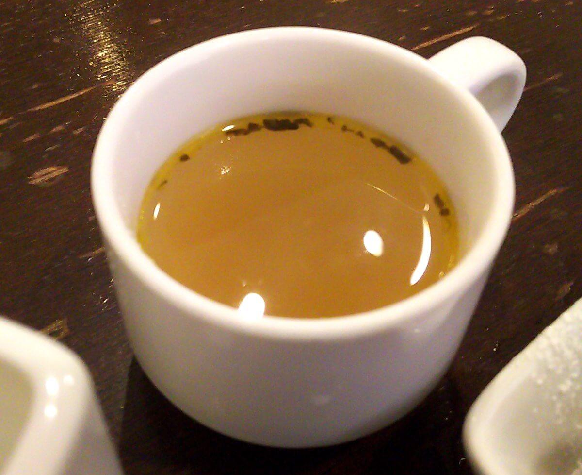 カフェラダダのランチに付くスープ